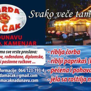 Restoran ČARDA MAČAK Novi Sad