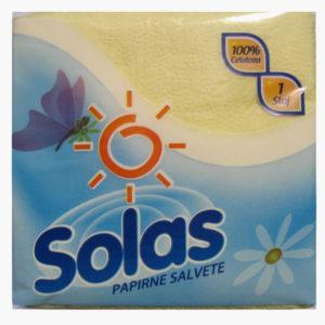 SOLAS papirne maramice, salvete, alu folije, toalet papir