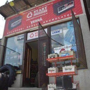 Start – Commerce – Prodaja akumulatora Kragujevac