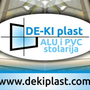 DE – KI plast – ALU i PVC stolarija