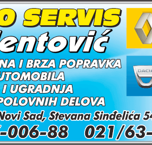 VALENTOVIĆ – AUTO SERVIS – Novi Sad