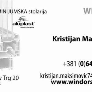Windors System – Alu i Pvc stolarija – Niš