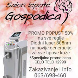 Salon lepote Gospođica – Beograd