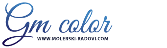 GM COLOR – Molerski, gipsarski radovi