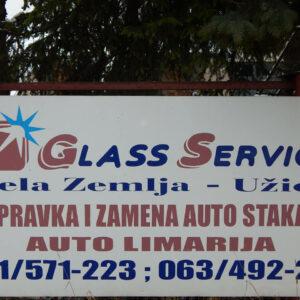 Glass servis Bela zemlja Uzice