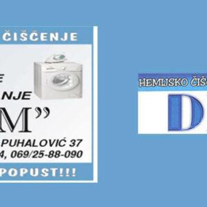 Hemijsko čišćenje DM Beograd