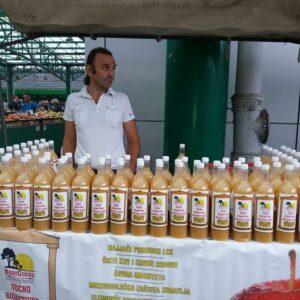 Voćno bioaktivno jabukovo sirće Zoran Čičulić Kikinda