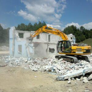 Rušenje objekata i iskopi Lumons Doo Čačak