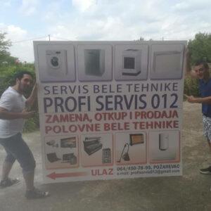 Servis bele tehnike Požarevac PROFI 012