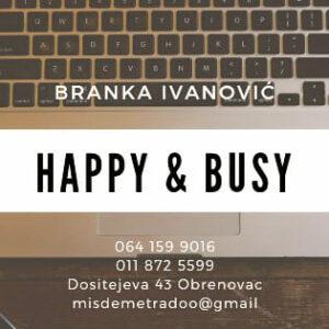 Knjigovodstvena agencija Happy&Busy Team doo Obrenovac