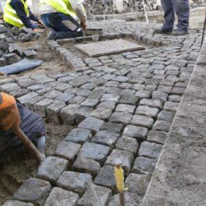 Rekonstrukcija ulica od kocke Srbija