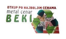 Sekundarne sirovine BEKI M Kragujevac